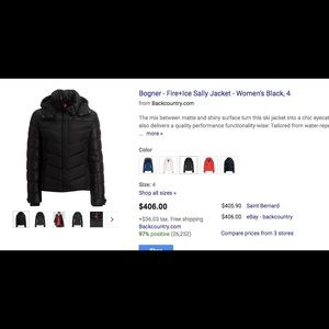 AMAZING DEAL! Bogner down ski jacket!